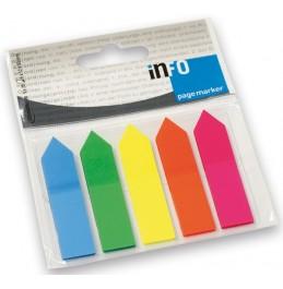 Σελιδοδείκτες Ιnfo Tόξο 5x12x50 (125Φ)