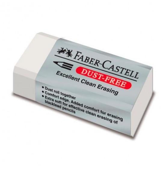 Γόμα Faber Castell  Dust Free Λευκή Μini