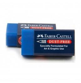Γόμα Faber Dust Free Blue