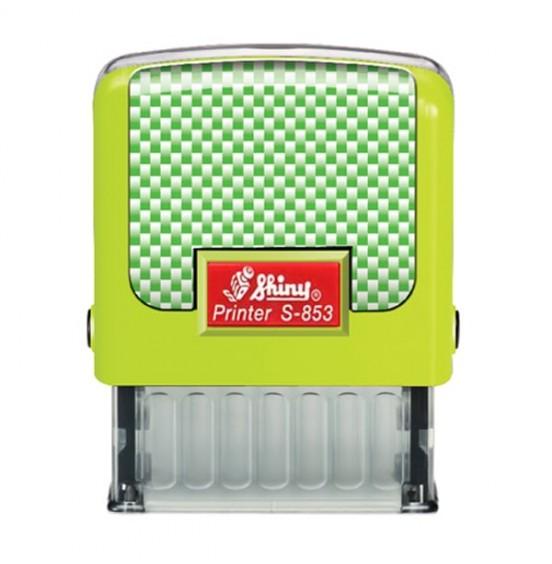 Σφραγίδα Shiny New Printer Line S-853 47mm x 18mm (Έως 5 Σειρές)