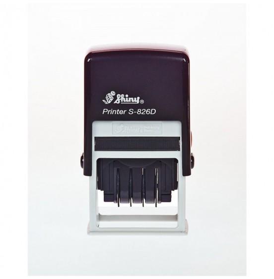 Σφραγίδα Shiny Printer Line S-826D 41mm x 24mm (ΗΜΕΡΟΜΗΝΙΩΝ)