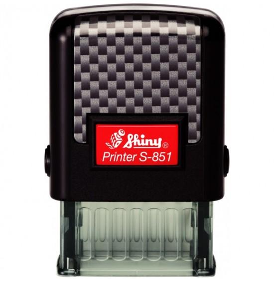 Seal Shiny New Printer Line S-851 26mm x 10mm