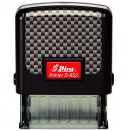 Σφραγίδα Shiny New Printer Line S-852 38mm x 14mm (Έως 4 Σειρές)