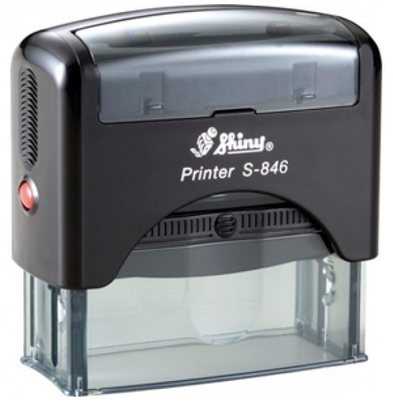 Σφραγίδα Shiny Printer Line S-846 65mm x 27mm (Έως 8 Σειρές)