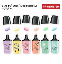 Μαρκαδόρος Υπογράμμισης Stabilo Boss Pastel Mini